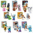 2017 8set/lot Hot Sale Model Game Juguetes Action Figures Safe ABS Gifts for Kids Toy