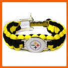 NFL PITTSBURGH STEELERS SUPER BOWL SPORTS BRACELET ADJUSTABLE SURVIVAL
