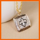 NEW ORLEANS SAINTS AMERICA FOOTBALL CHAMPIONSHIP NECKLACE