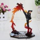 "Cool 6.8"" One Piece Anime Black Leg Sanji Fire Battle Version PVC Action Figure Collection"