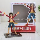 16cm Japanese Anime Cartoon One Piece New World Luffy Action Figures PVC Toys
