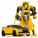 19cm New Arrival Big Classic Transformation Plastic Robot Cars Action Toy (11)