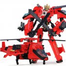 19cm New Arrival Big Classic Transformation Plastic Robot Cars Action Toy (13)