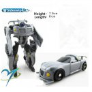 8cm Sideswipe New Arrival Mini Classic Transformation Plastic Robot Cars Action Toy