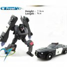 8cm Prowl New Arrival Mini Classic Transformation Plastic Robot Cars Action Toy