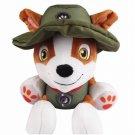 Tatalia Cute Dog Plush Toy Pawed Patrolling Cartoon Dog Plush Doll BOY Toys 20cm (Hat)
