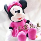 28cm Hot Sale Lovely Mickey Mouse And Minnie Mouse Stuffed Soft Plush Toys (Pink)
