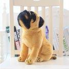 Stuffed Dog Plush Toys Pug Dog Yellow Pug Puppy Dogs Dol Baby Toy Animal Peluche 30cm