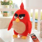 Red birds plush toys birthday gift Christmas gift Angry Bird