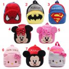 New cute cartoon kids plush backpack toy mini school bag Children's gifts kindergarten boy girl