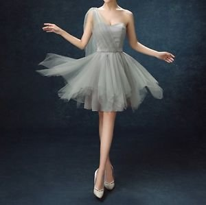 One Shoulder Sweetheart Short Tutu Homecoming Pageant Dress One Size fits S M L