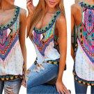 Women Summer Vest Top Sleeveless Blouse Casual Tank Top T-Shirt