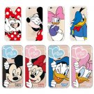 Cute Cartoon Mouse Duck Couple Ultra Thin Soft Case Cover for iPhone 6 6S 7 Plus