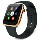 A9 Smart Watch with MTK2502A Heart Rate Monitor  -  GOLDEN