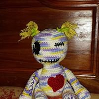 Girl VooDoo Doll