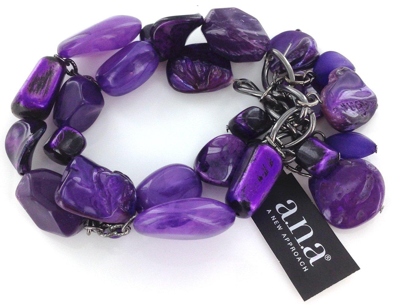 A.N.A 2 Row Beaded Bracelet