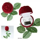 Bret Roberts 8mm Cubic Zirconia Earrings in Velveteen Rose Gift Box