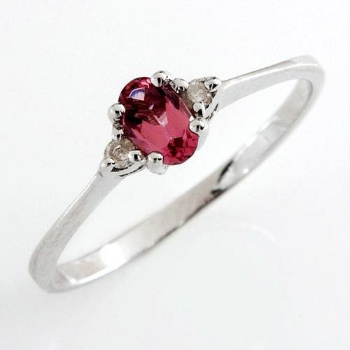 Precious 0.26 ctw Genuine Diamonds & Natural Topaz Ring Well Made in Solid 18k White Gold FREE Ship