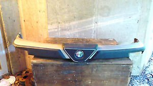 Alfa Romeo Spider Front Bumper Assembly w Energy Absorbers Series 3 82-90
