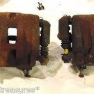 99 to 04 JEEP GRAND CHEROKEE front brake calipers SET AKEBONO Good Shape