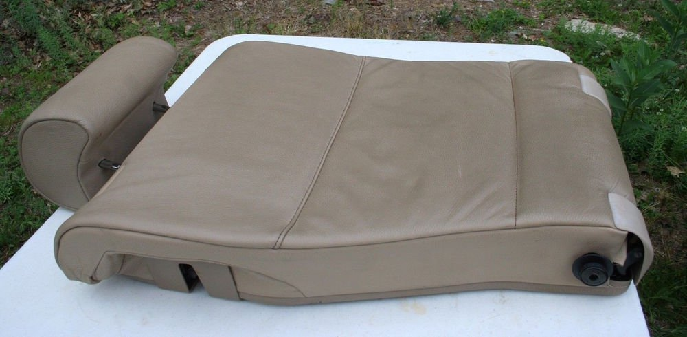 2000 to 2006 BMW E 53 X5 RH REAR SEAT BACK REST Tan Light Beige