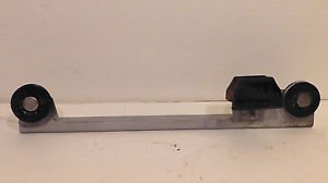 FIAT 124 2000 Spider RIGHT WINDOW LOWER BRACKET w PULLEYS