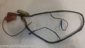 FIAT 124 SPIDER TRUNK WIRING HARNESS to TAIL LIGHTS