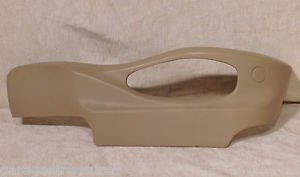 BMW X5 X3 RIGHT PASSNGER  POWER SEAT SWITCH LOWER SIDE PLASTIC TRIM