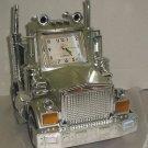 Vtg Atlanta Mac Truck Cab Alarm Clock Lights Sound Motor Horn Tested & Works!