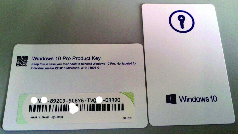 Windows 10 Pro - Product key