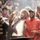 Kanye West The Life Of Pablo Artwork Orginal Artwork+Kid Cudi Square Silk Poster