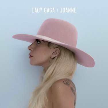"2016- Lady Gaga Album Music "" Joanne "" Art Silk Print Poster 24x24inch Brand New"