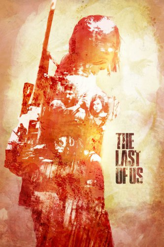 The Last Of Us for Playstation 3 Game Art Print Silk Poster Brand New