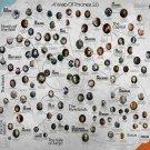 "Game Of Thrones Season Drama Series Family Tree Silk Poster 24""x26"" Brand New"