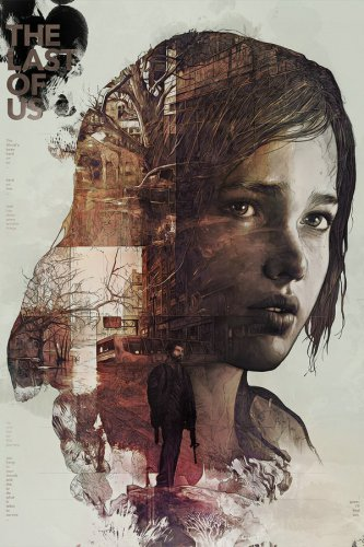 The Last of Us Zombie Survival Horror Action TV Game Silk Wall Poster New