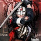 Suicide Squad Katana (Tatsu Yamashiro) Large Art Silk Printing Poster Brand New