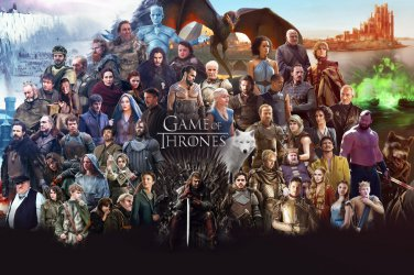 Game Of Thrones Season 6 TV Series Home Deco Art Silk Poster 36x24inch New