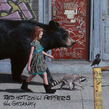 2016 - Red Hot Chili Peppers The Getaway Album Music Silk Poster 24x24inch New