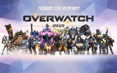 "Overwatch Blizzard Hot Game 32""x20"" Large Art Printing Fabric Canvas Silk Poster"