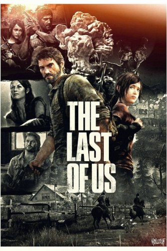 The Last Of Us Large Game Large Silk Poster 36X24inch Brand New Free Shipping