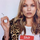 Super Sexy Model Kate Moss Supreme High Quality Silk Fabric Poster 24X36inch New
