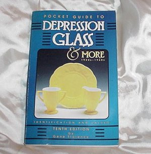 DEPRESSION GLASS Collectibles Guide 1920's to 1960's Glassware 10th Edition Detailed COLOR PICTURES!