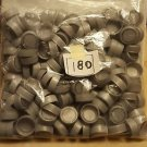 180 Grey Plastic Pop Caps, arts, crafts