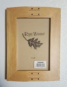 Rare Woods 4x6 Wood Picture Frame