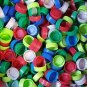Lot of 100 Used Plastic Bottle Caps, Aquafina, arts, crafts, reptile food dish