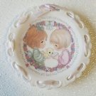 "Precious Moments Plate  ""Sharing The Gift Of Friendship Plate"""