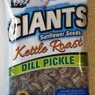 2 GIANTS Sunflower Seeds Dill Pickle,Toasted Coconut,Origional,Roasted & Salted