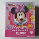 Disney Minnie Mouse Hands On Face Jigsaw Puzzle 24 Piece