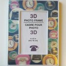 2 BRAND NEW  3D Photo Frame Cadre Pour Photo 3D 4x6 in (10x15 cm)