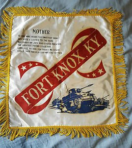 Vintage Fort Knox KY Pillowcase
